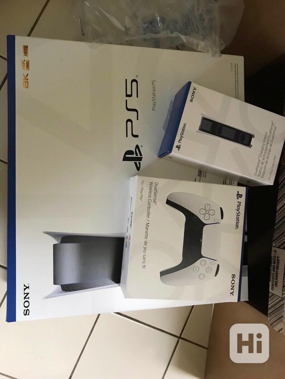Disk Playstation 5 s extra Dualsense a oficiálním dokem pro - foto 1