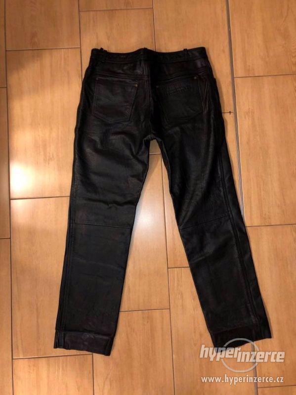 Motorkářské kožené kalhoty - foto 7