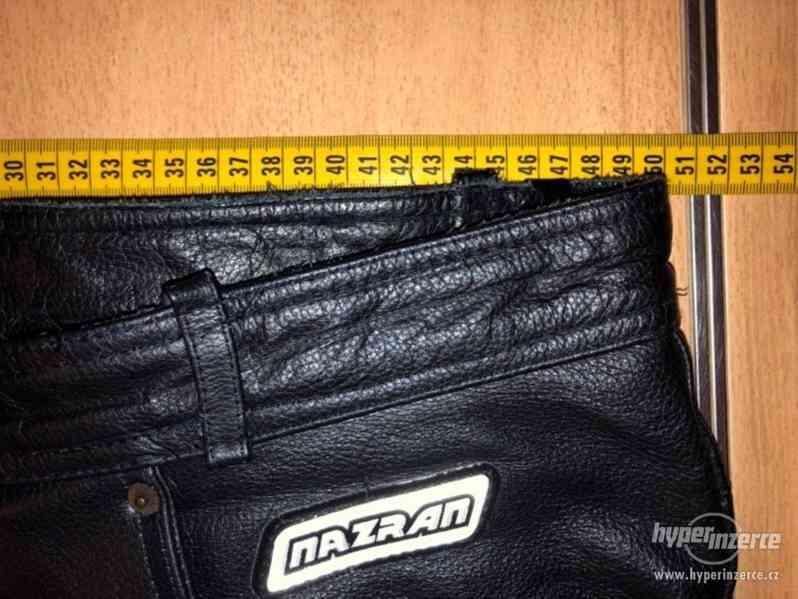 Motorkářské kožené kalhoty - foto 6