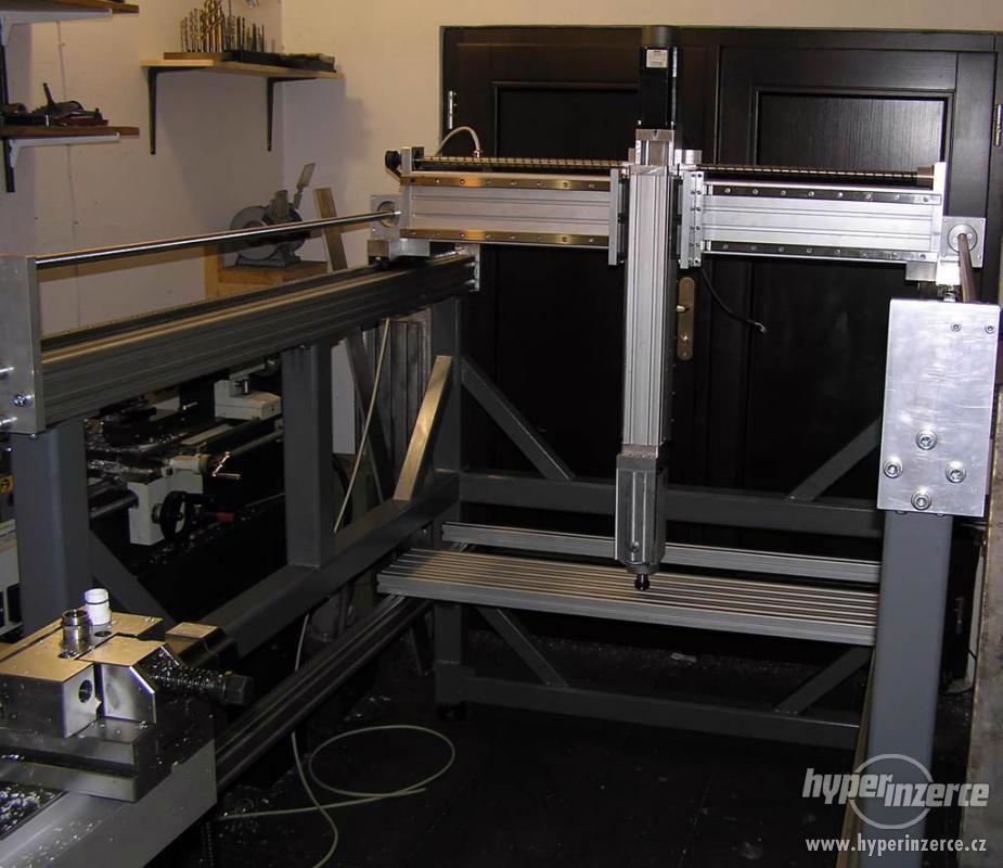 CNC frézky na dřevo ,plasty a dural - foto 1