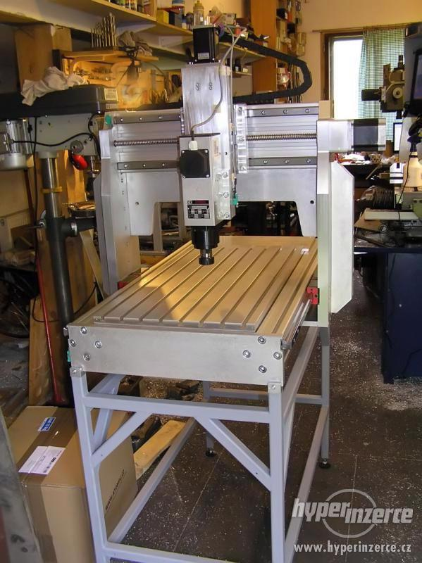 CNC frézky na dřevo ,plasty a dural - foto 5