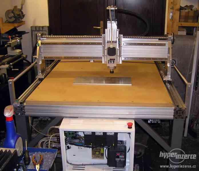 CNC frézky na dřevo ,plasty a dural - foto 2