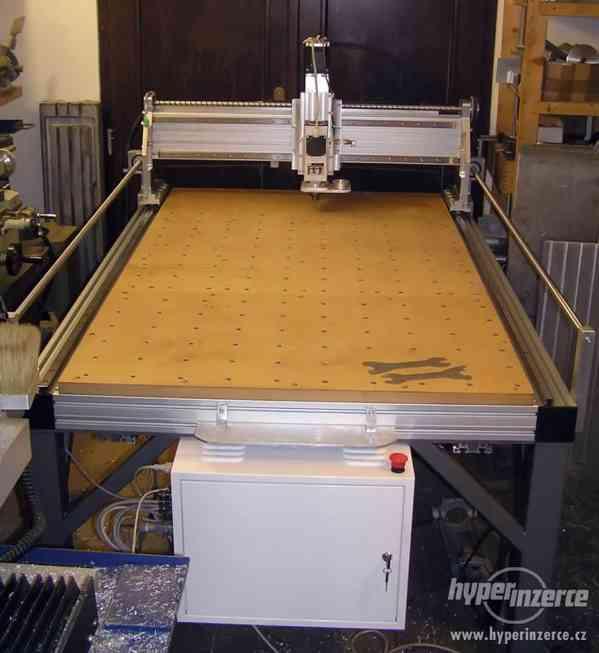 CNC frézky na dřevo ,plasty a dural - foto 4