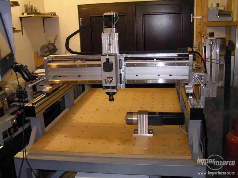 CNC frézky na dřevo ,plasty a dural - foto 6