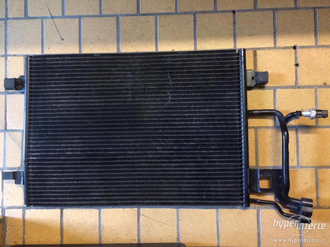 Chladič kondenzátor klimatizace VW Passat Audi Škoda - foto 1