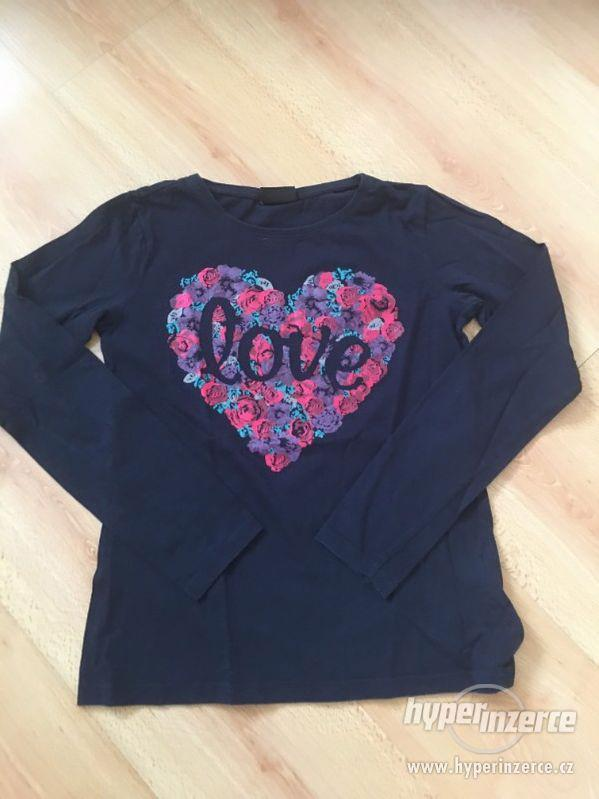 Dívčí značkové tričko od Page one z USA, S - foto 1