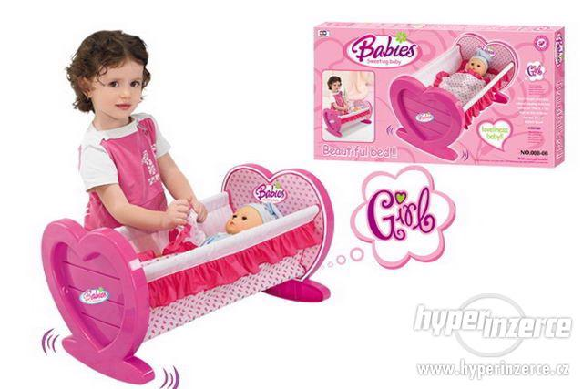 Dětská kolébka pro panenky