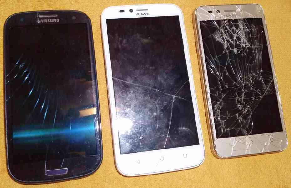 Samsung S3 +Huawei Y3 II +Huawei Y625-U51 -zákl. desky!!! - foto 1