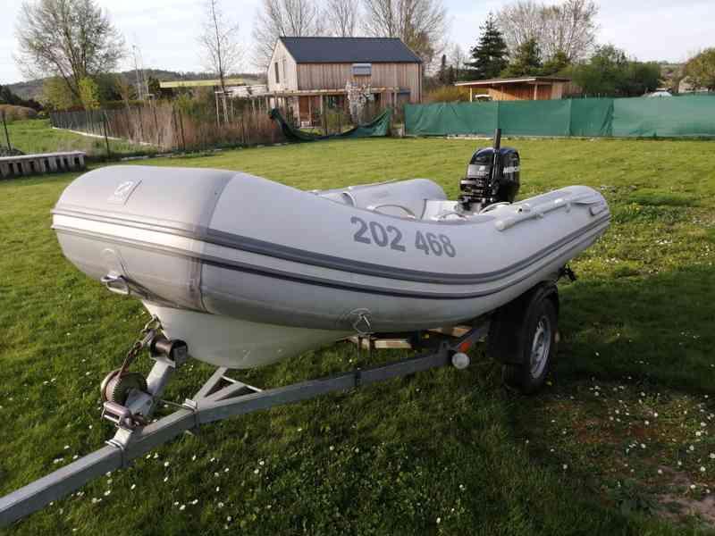 Zodiac Cadet 340 RIB+MERCURY 20+vozík a příslušenství