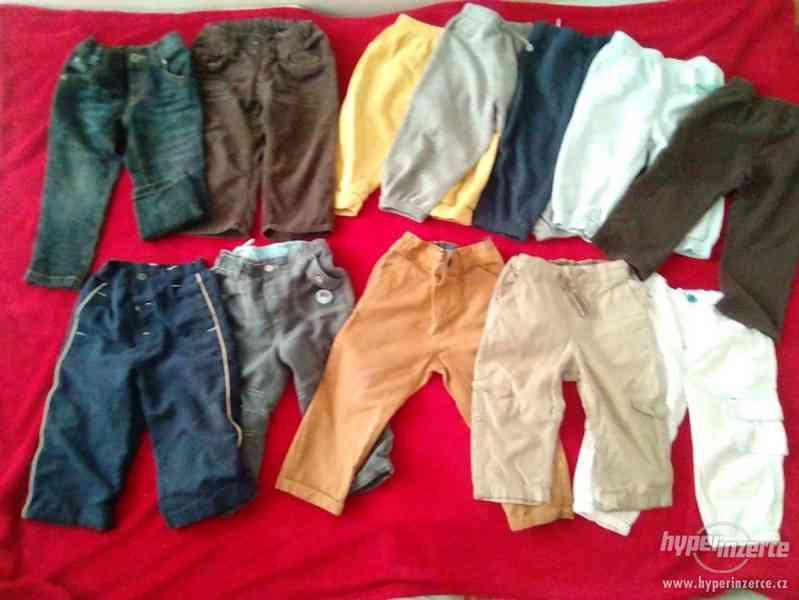 Balicek kalhoty/teplaky 80-86 - foto 1