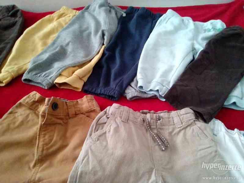Balicek kalhoty/teplaky 80-86 - foto 2