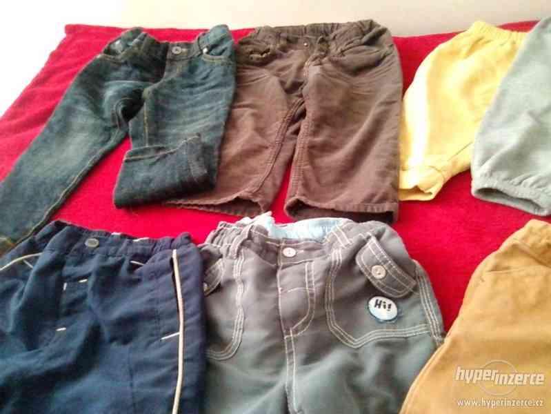 Balicek kalhoty/teplaky 80-86 - foto 3