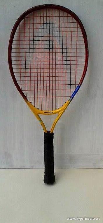 Dětská nebo lehká dámská tenisová raketa. - foto 1