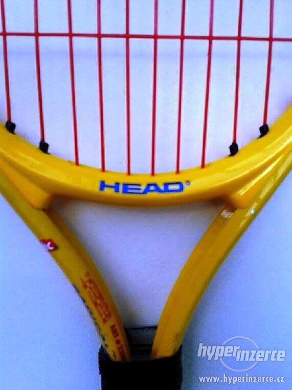 Dětská nebo lehká dámská tenisová raketa. - foto 2