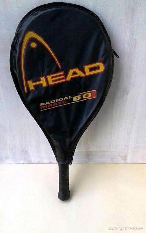 Dětská nebo lehká dámská tenisová raketa. - foto 3