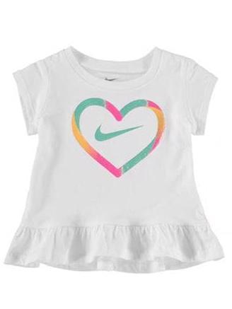Nike - Dětské tričko Srdíčko, vel. 10 měs.  Velikost: 6-12 m