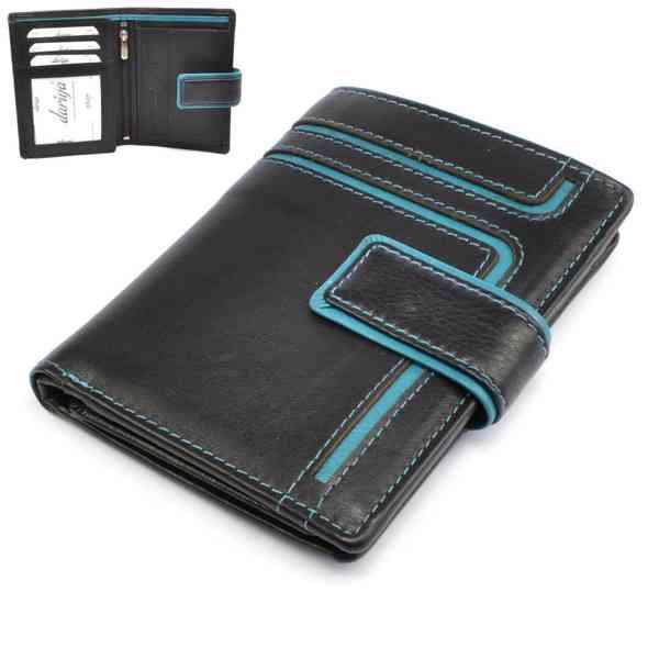 Kožená pánská peněženka barevná