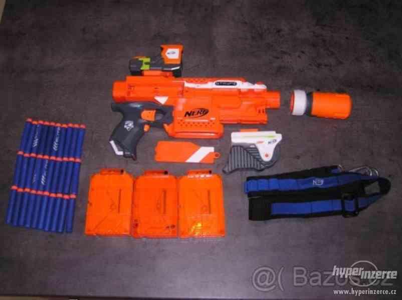 Prodám pistoli NERF STRIKE - foto 2