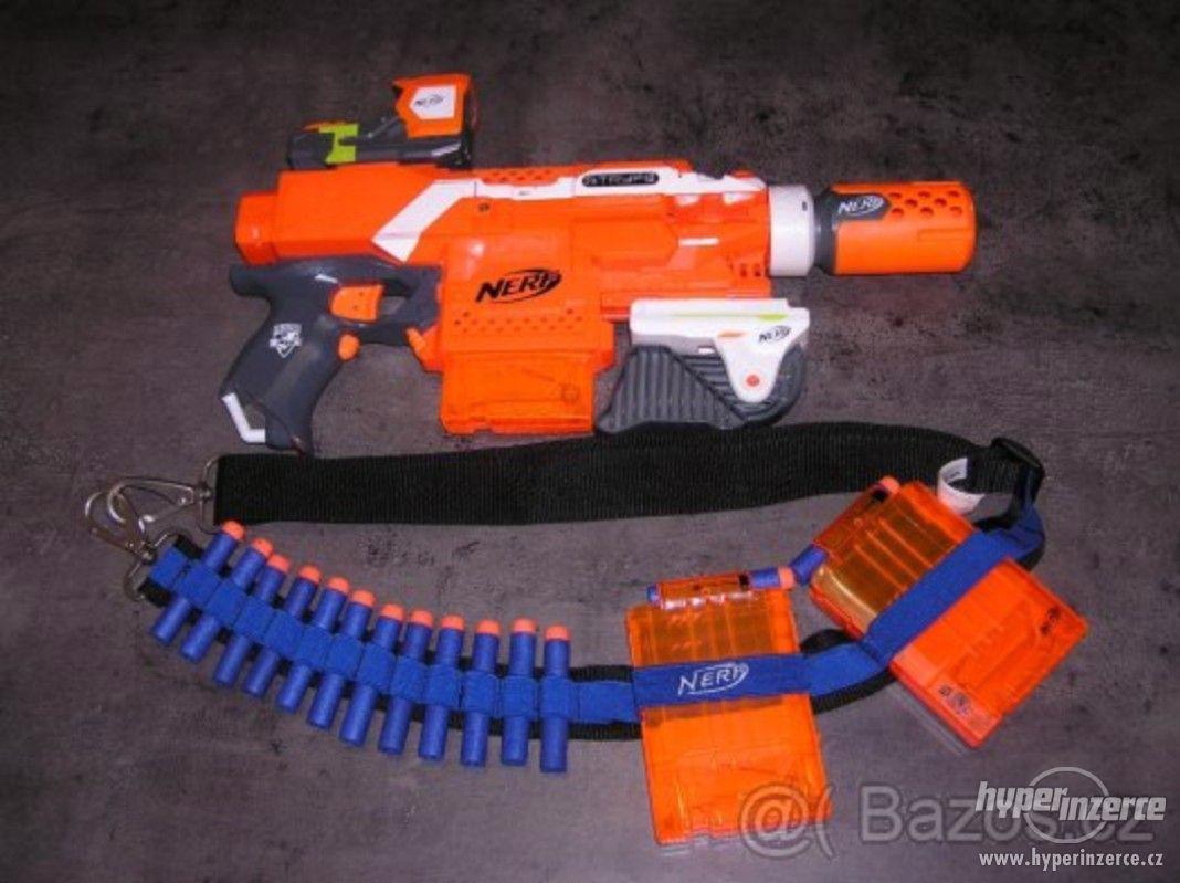 Prodám pistoli NERF STRIKE - foto 1