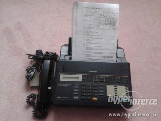 fax+záznamník+kopírka+telefon Panasonic