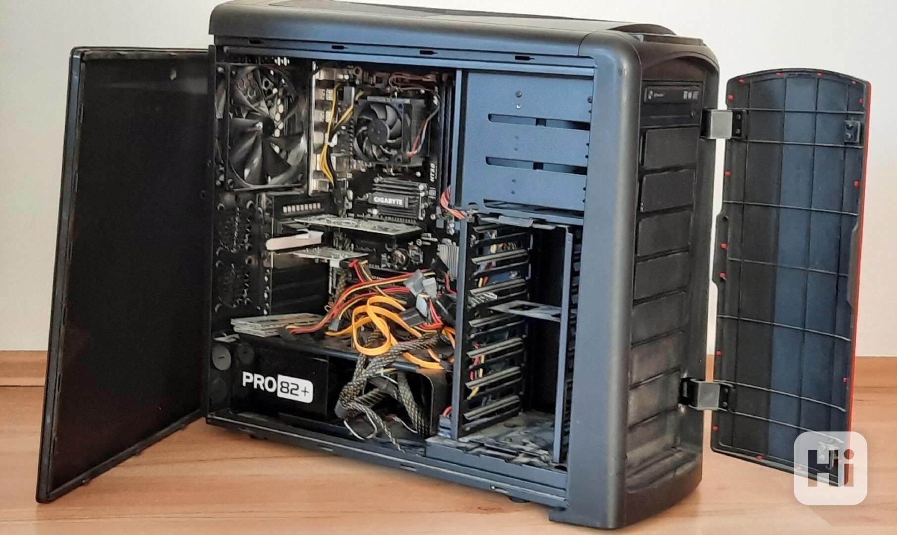 Stolní počítač + monitror + scanner + tiskárna - foto 1