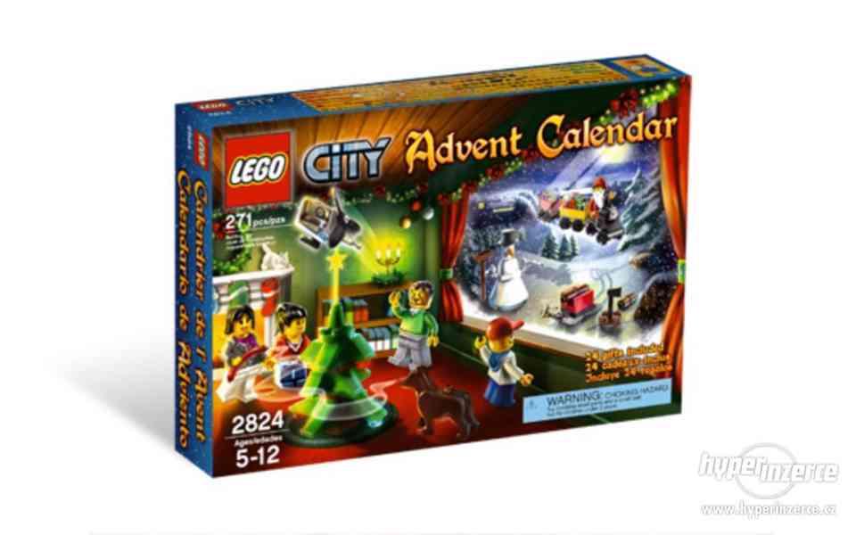 LEGO 2824 CITY Adventní kalendář 2010