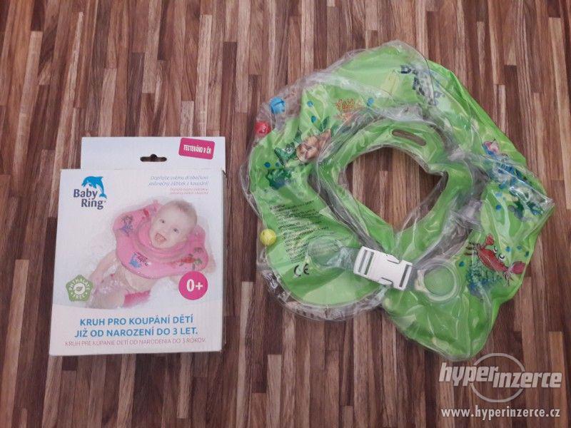 Baby ring - kruh pro koupání dětí - foto 1