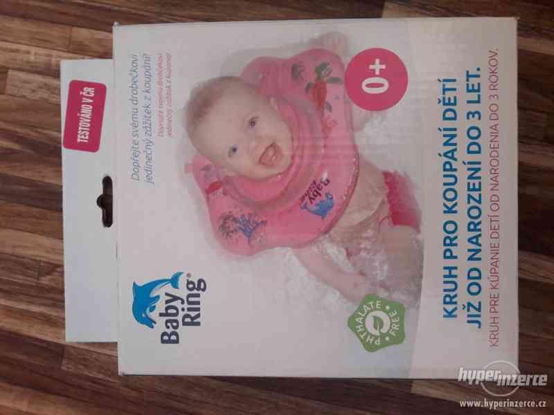Baby ring - kruh pro koupání dětí - foto 2