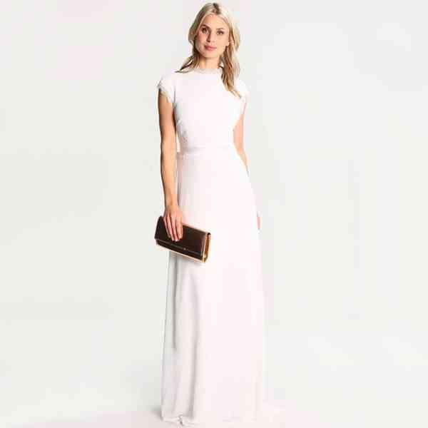 TFNC - Dámské dlouhé šaty London Heidi Velikost: 40