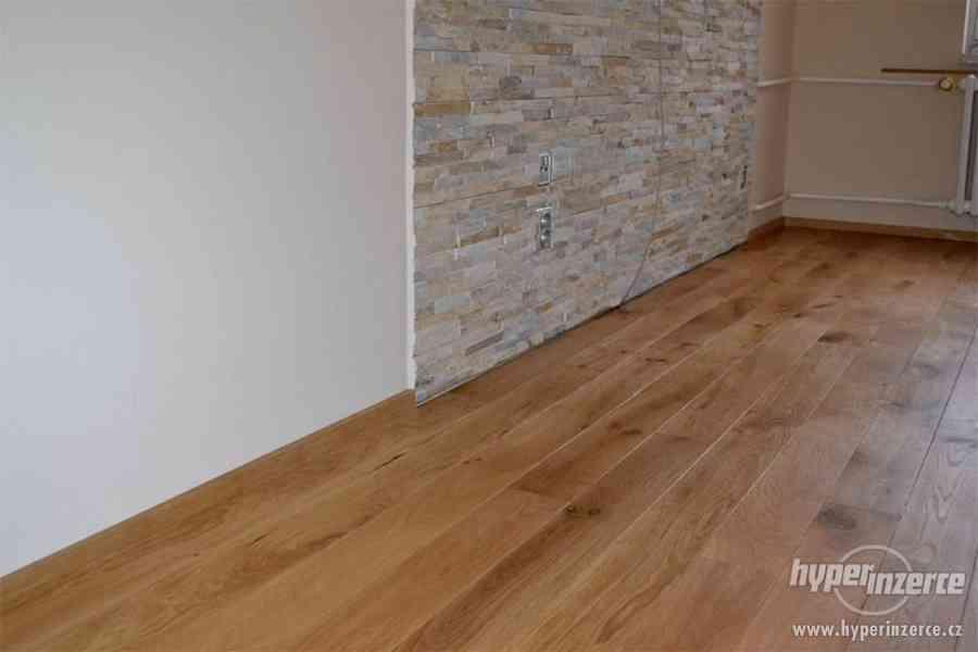 Dřevěná podlaha na podlahové topení
