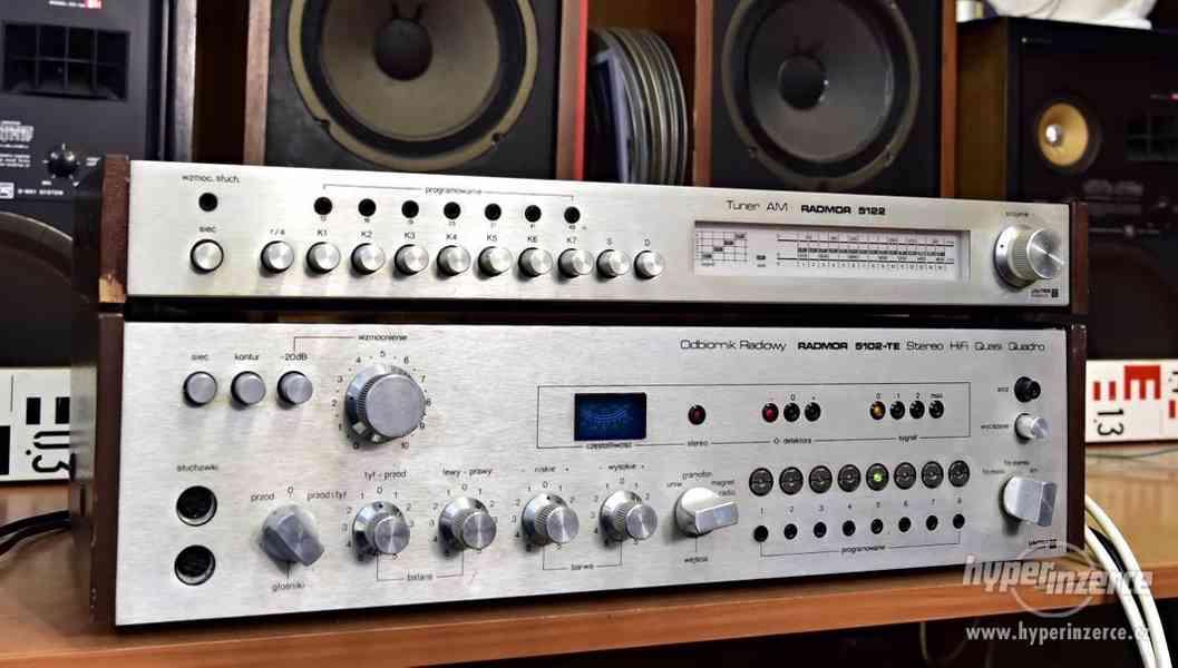 UNITRA RADMOR 5102-TE stereo receiver, Tuner AM RADMOR 5122
