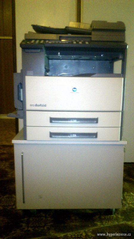 síťová kopírka Konica Minolta bizhub 210 A6-A3 + duplex + st - foto 3