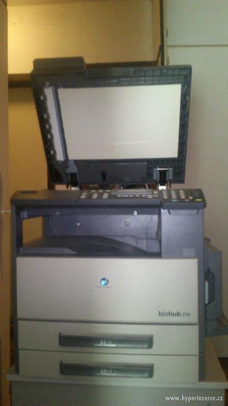 síťová kopírka Konica Minolta bizhub 210 A6-A3 + duplex + st - foto 5