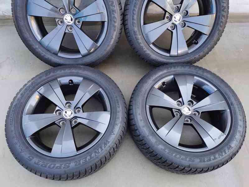 215/55R17 zimní pneu škoda superb III 6,5x17 5x112x57 ET41 - foto 2