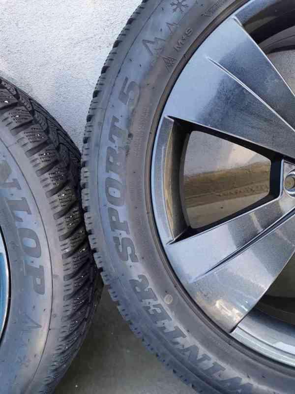 215/55R17 zimní pneu škoda superb III 6,5x17 5x112x57 ET41 - foto 8