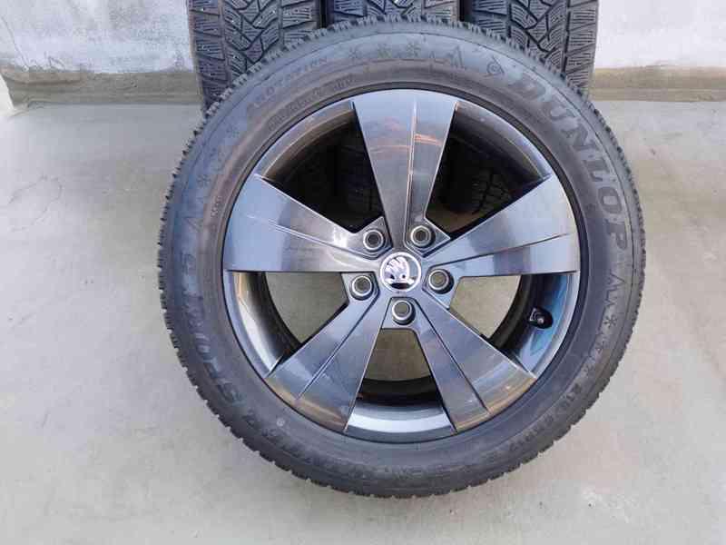 215/55R17 zimní pneu škoda superb III 6,5x17 5x112x57 ET41 - foto 16