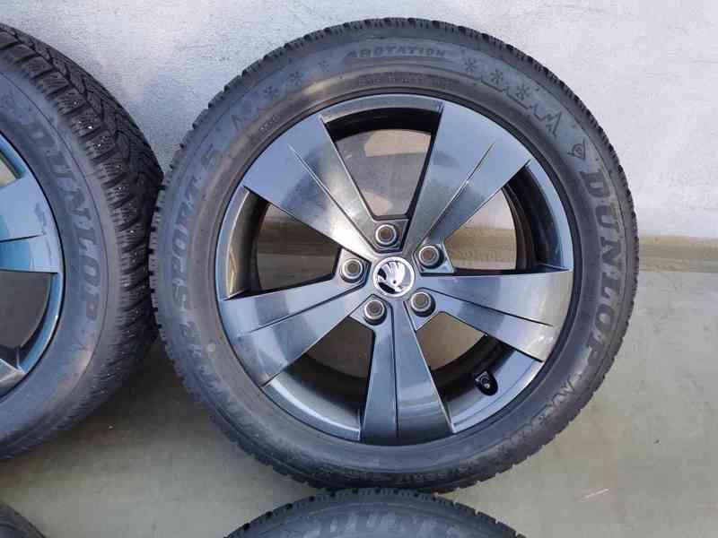 215/55R17 zimní pneu škoda superb III 6,5x17 5x112x57 ET41 - foto 4