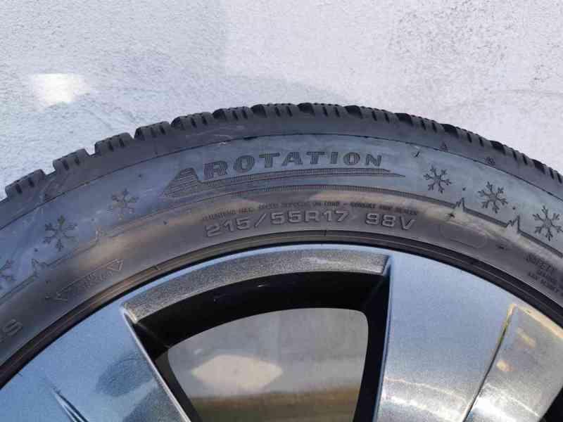 215/55R17 zimní pneu škoda superb III 6,5x17 5x112x57 ET41 - foto 7
