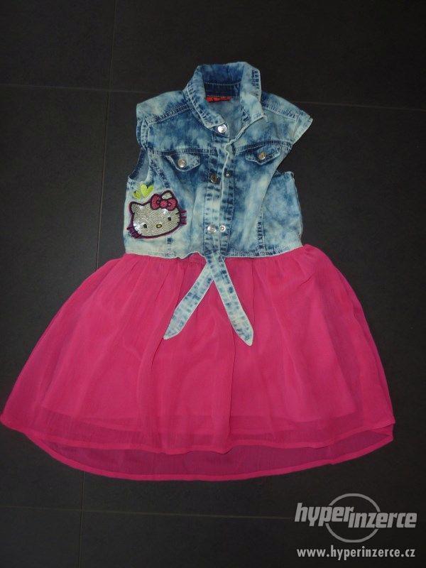 Prodám dívčí letní šaty 4 roky