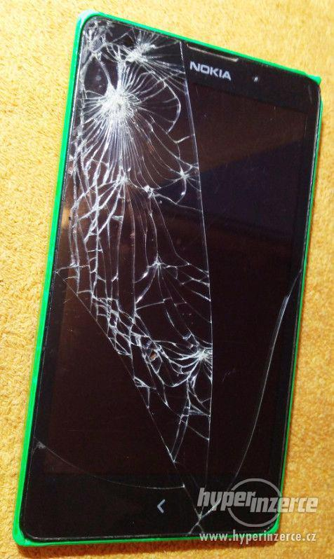 Nokia XL Dual SIM Bright Green - k opravě nebo ND