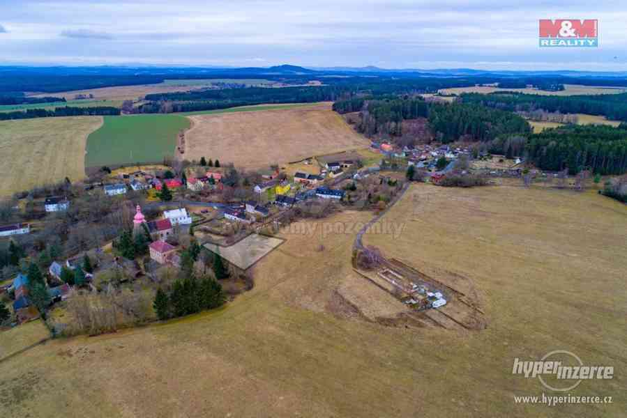 Prodej, pozemek k bydlení, 3408 m2, Domaslav
