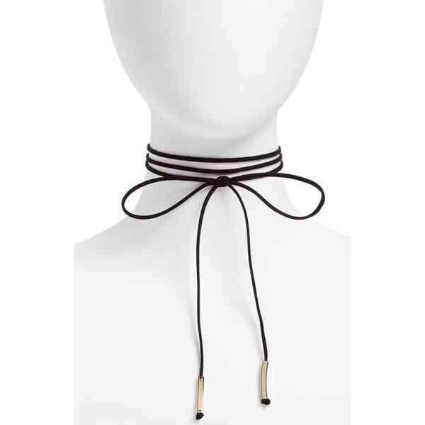 Topshop - Choker náhrdelník s mašličkou Velikost: OS - foto 1