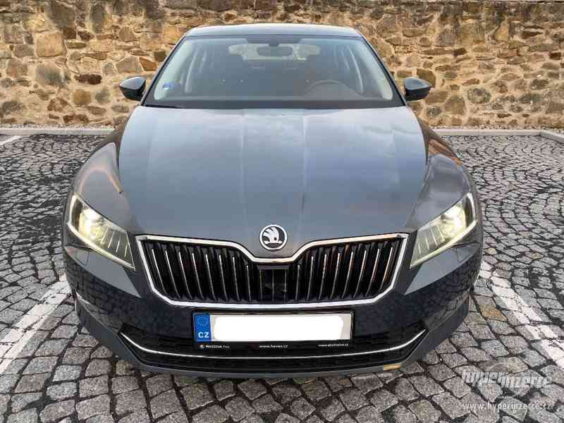 Pronájem Škoda Superb 2.0 TDI AUTOMAT UBER, BOLT, TAXI - foto 3