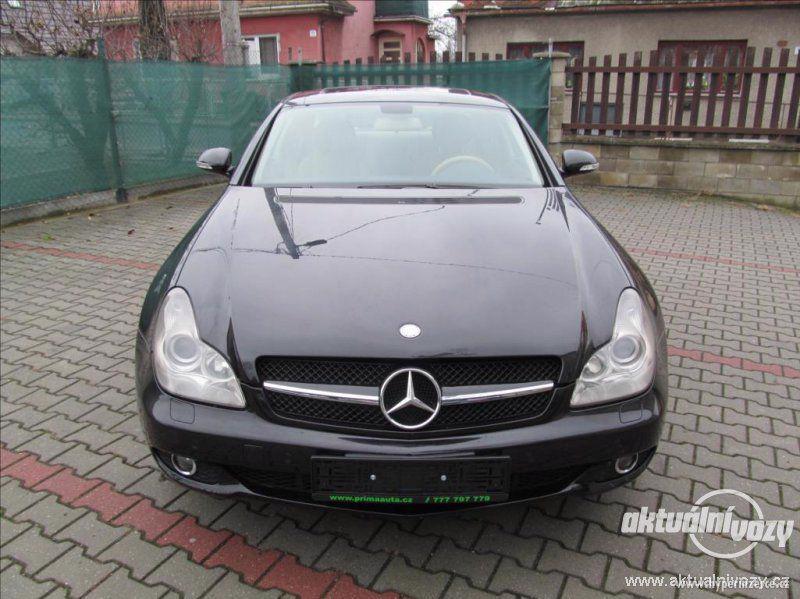 Mercedes CLS 3.0, nafta, automat, r.v. 2007, kůže