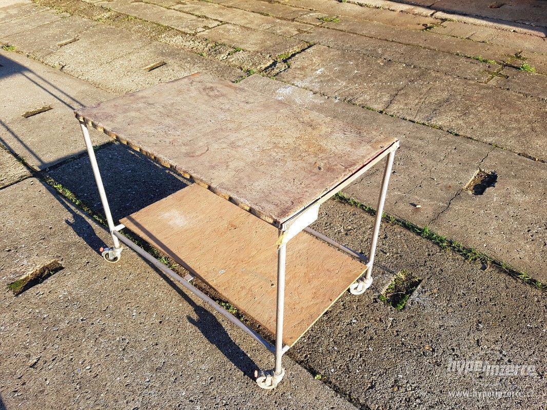 Pojízdný montážní stolek - vozík - foto 1