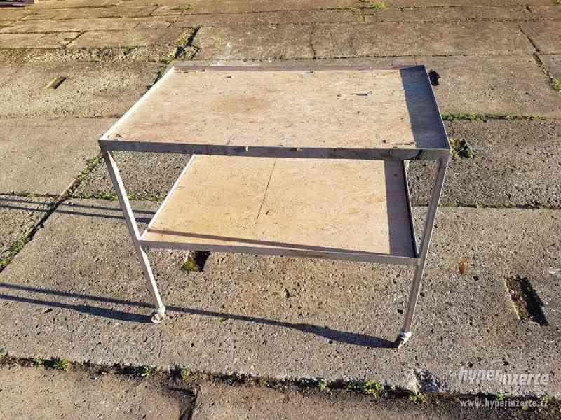 Pojízdný montážní stolek - vozík - foto 3
