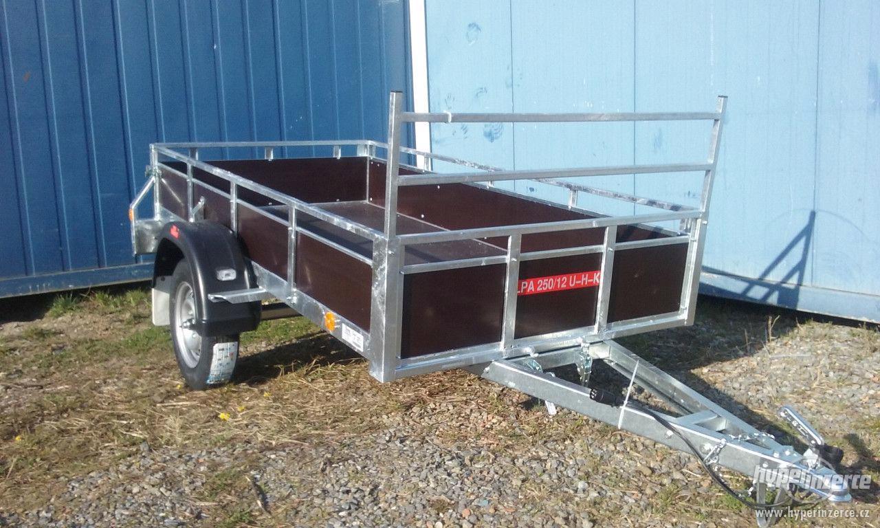Sklopný přívěsný vozík - foto 1