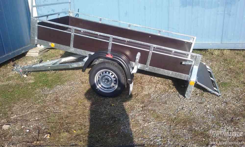 Sklopný přívěsný vozík - foto 2