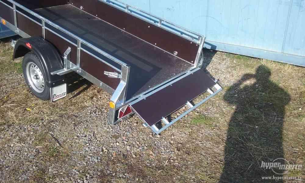 Sklopný přívěsný vozík - foto 3