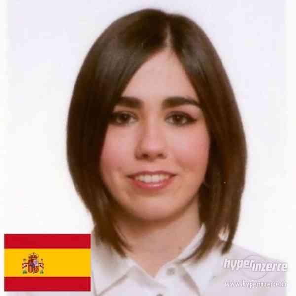 Španělština s rodilou mluvčí